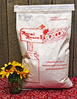 White Popping Corn (25lb bag)