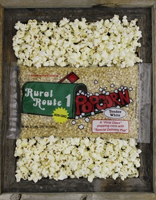 White Popping Corn (3 - 2lb Bags )